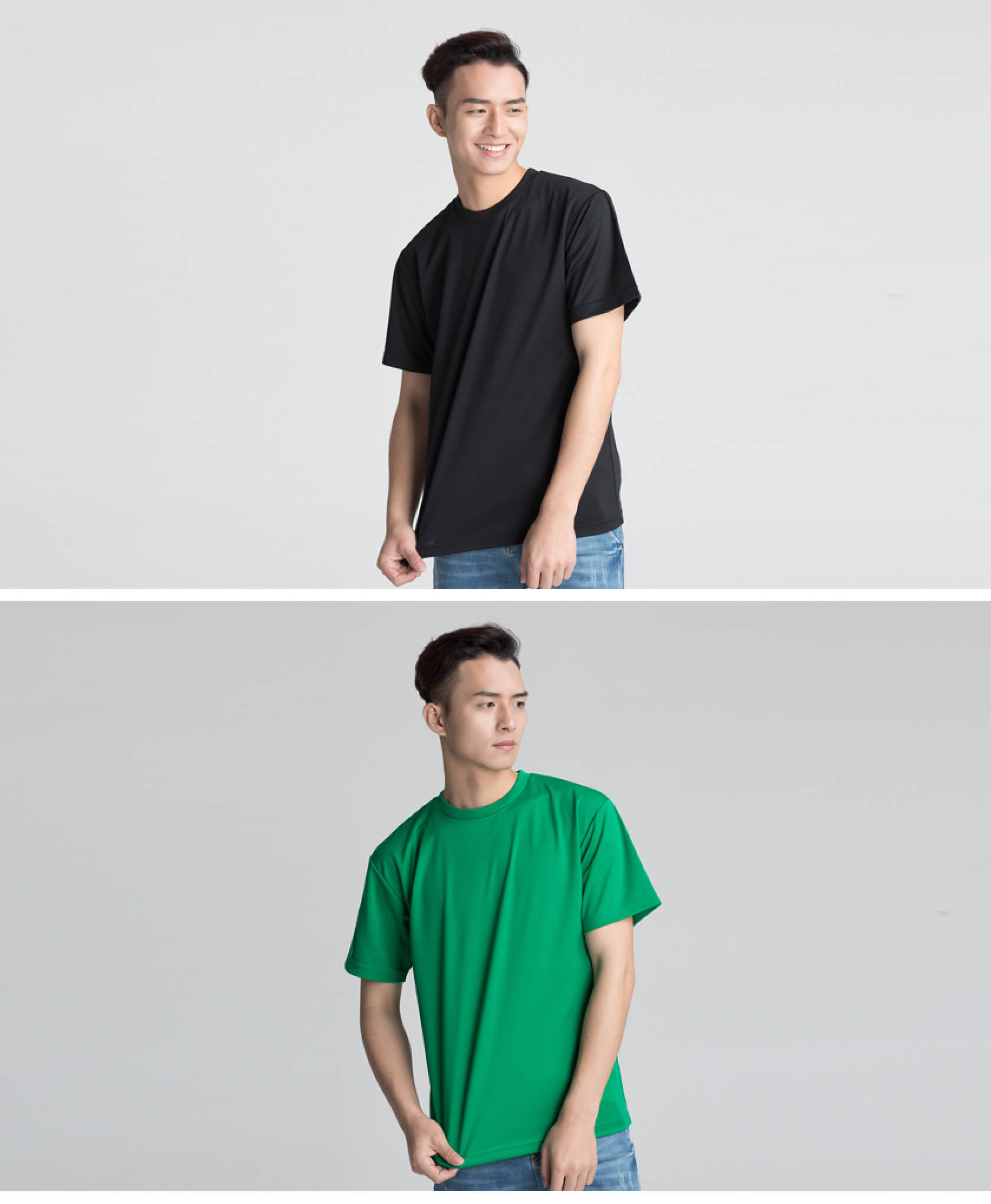 定制速干运动款男士T恤