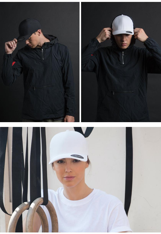 定制FLEXFIT经典弯檐女款棒球帽