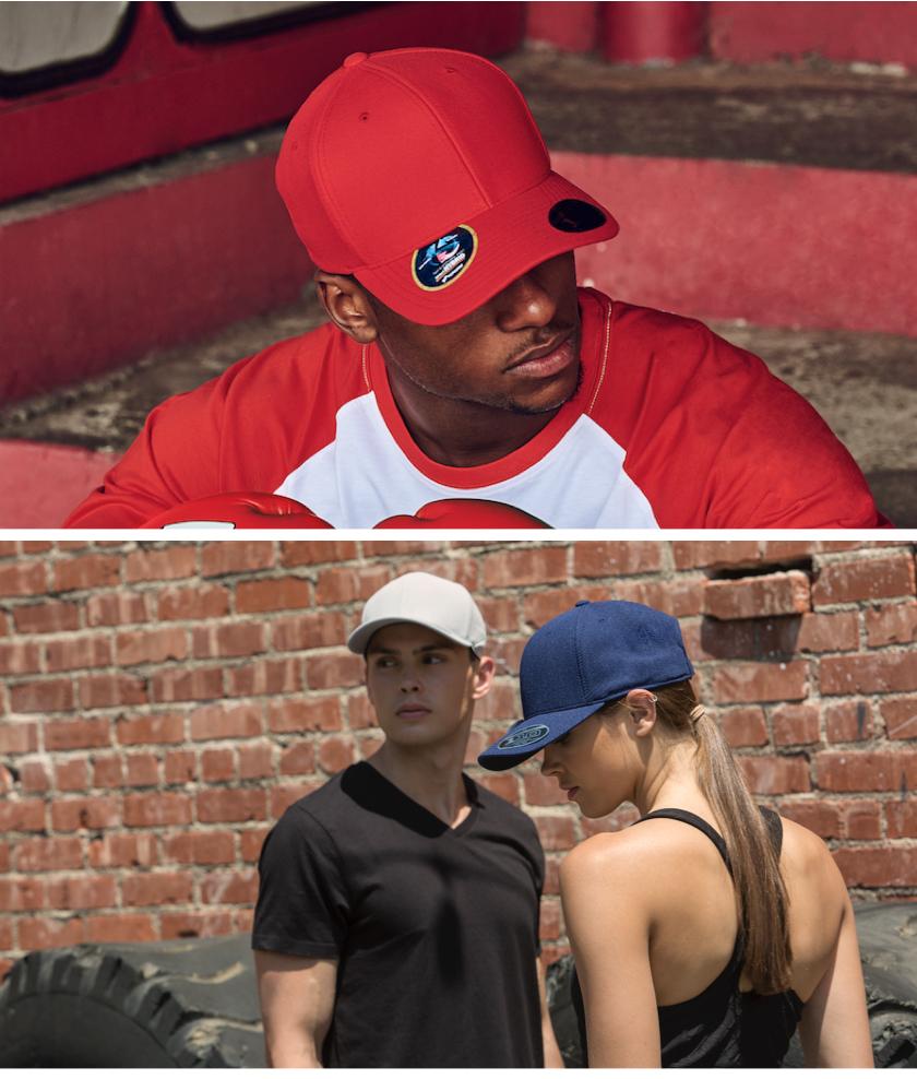 定制FLEXFIT运动弯檐品牌棒球帽