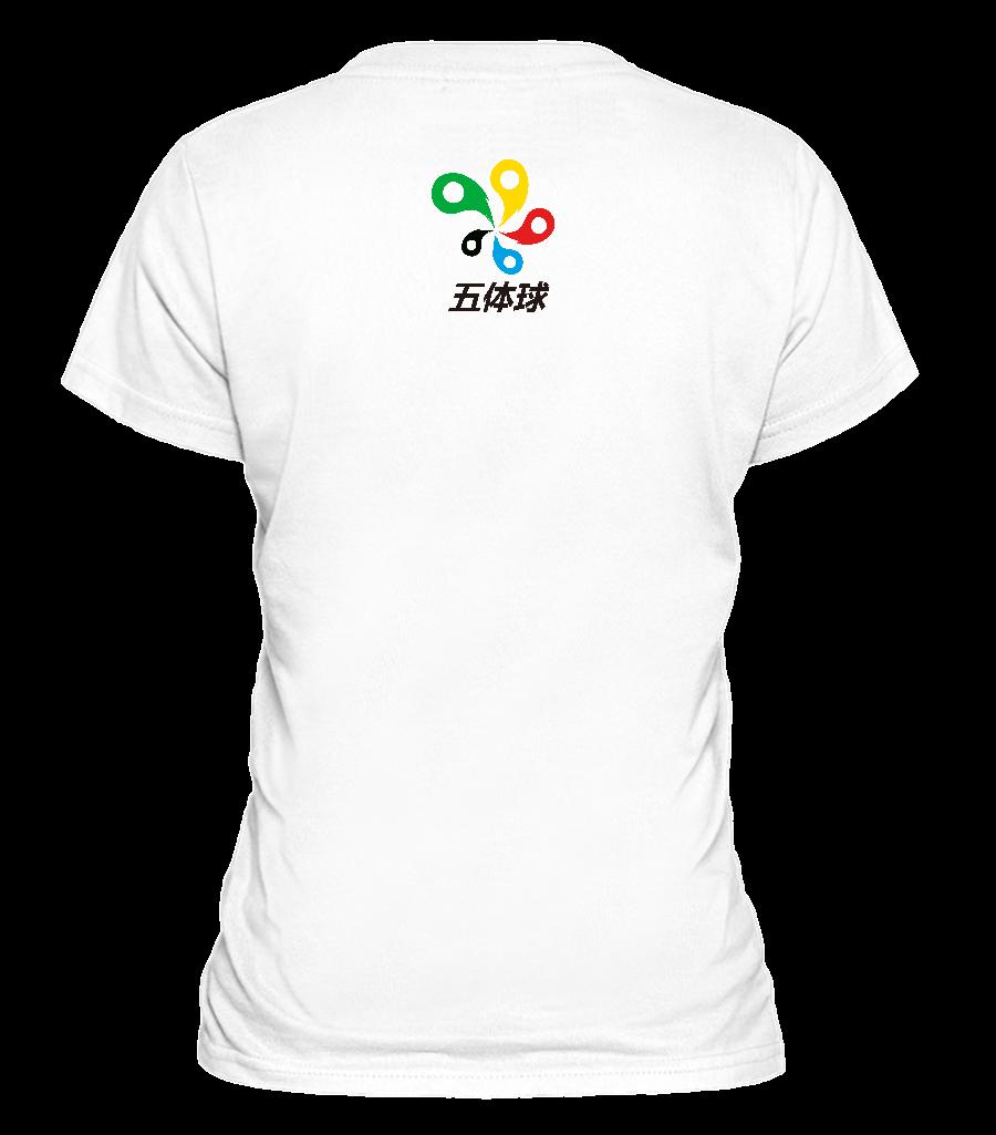 深圳工艺文化衫图案设计:深圳五体运动有限公司的公益文化衫定制