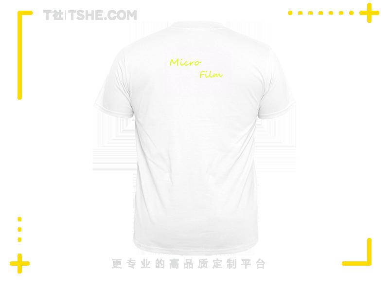 大学摄影协会文化衫T恤图案设计