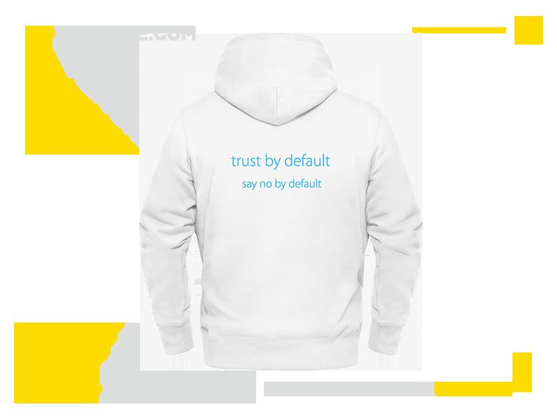 深圳百分之八十网络技术公司卫衣文化衫定制案例