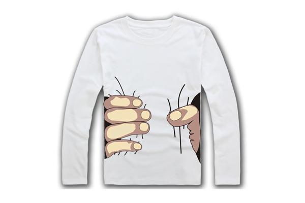 创意T恤,吸引眼球的创意服装