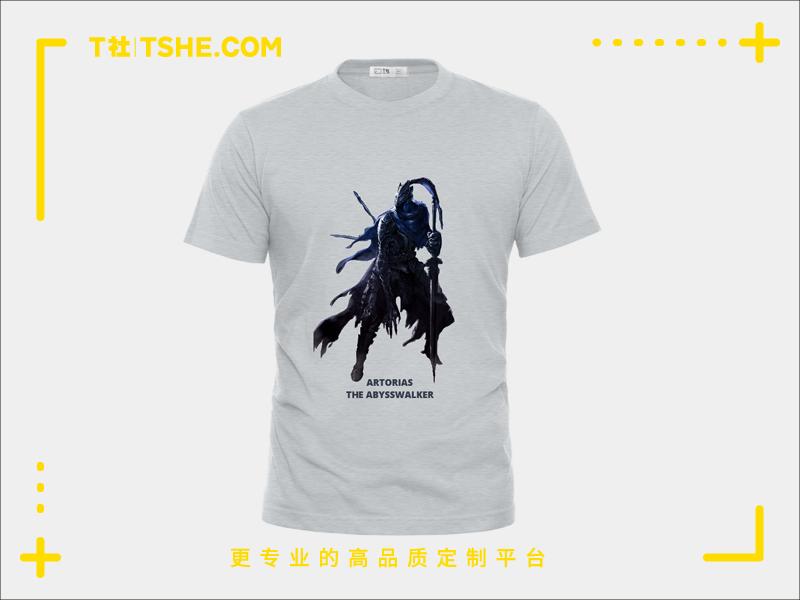 黑暗之魂T恤定制案例