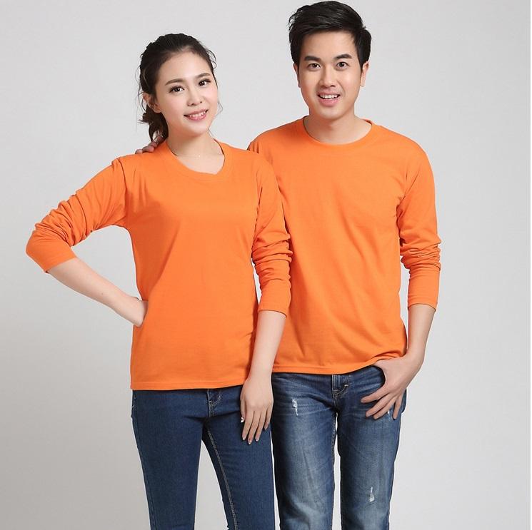 长袖T恤定制的好处,企业文化衫选择长袖还是短袖好?