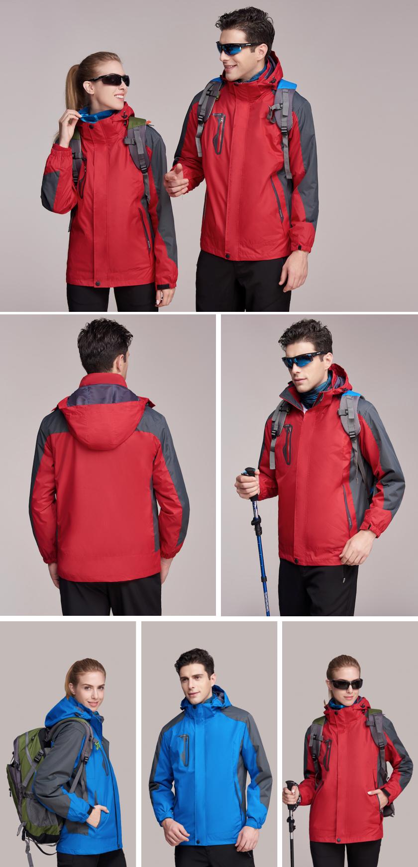 定制甄選三合一滑雪沖鋒衣