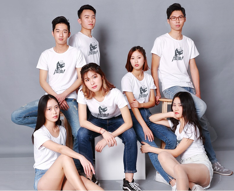 T恤定做的印花图案可以选择什么方式?