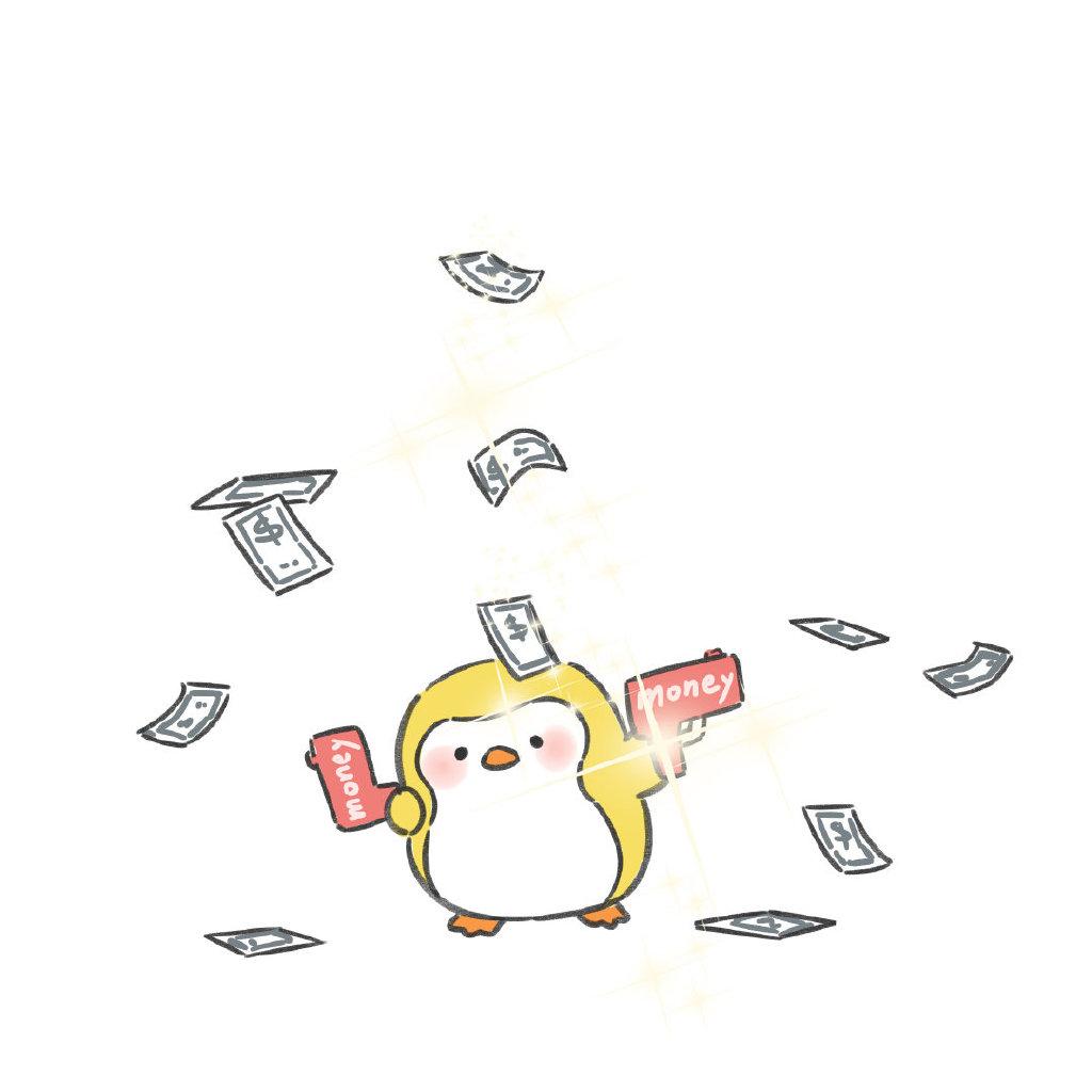 简单好看的手绘文化衫图案 可爱企鹅手绘文化衫简笔画