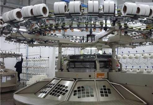 纱线订单少 纺织厂困难重重