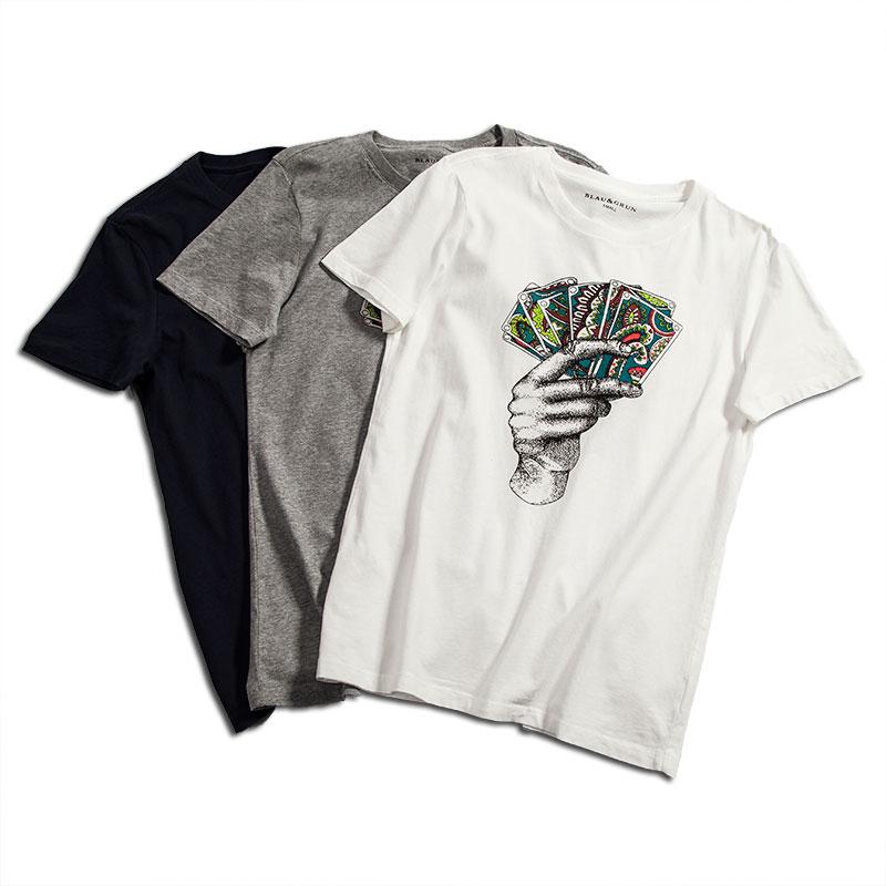 圆领T恤定制男款与女款有什么区别?