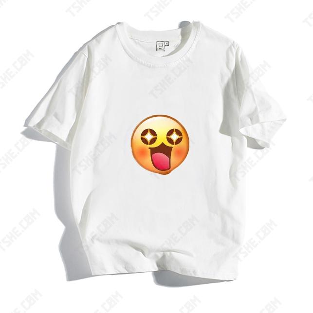 Emoji表情創意圖案 定制創意T恤