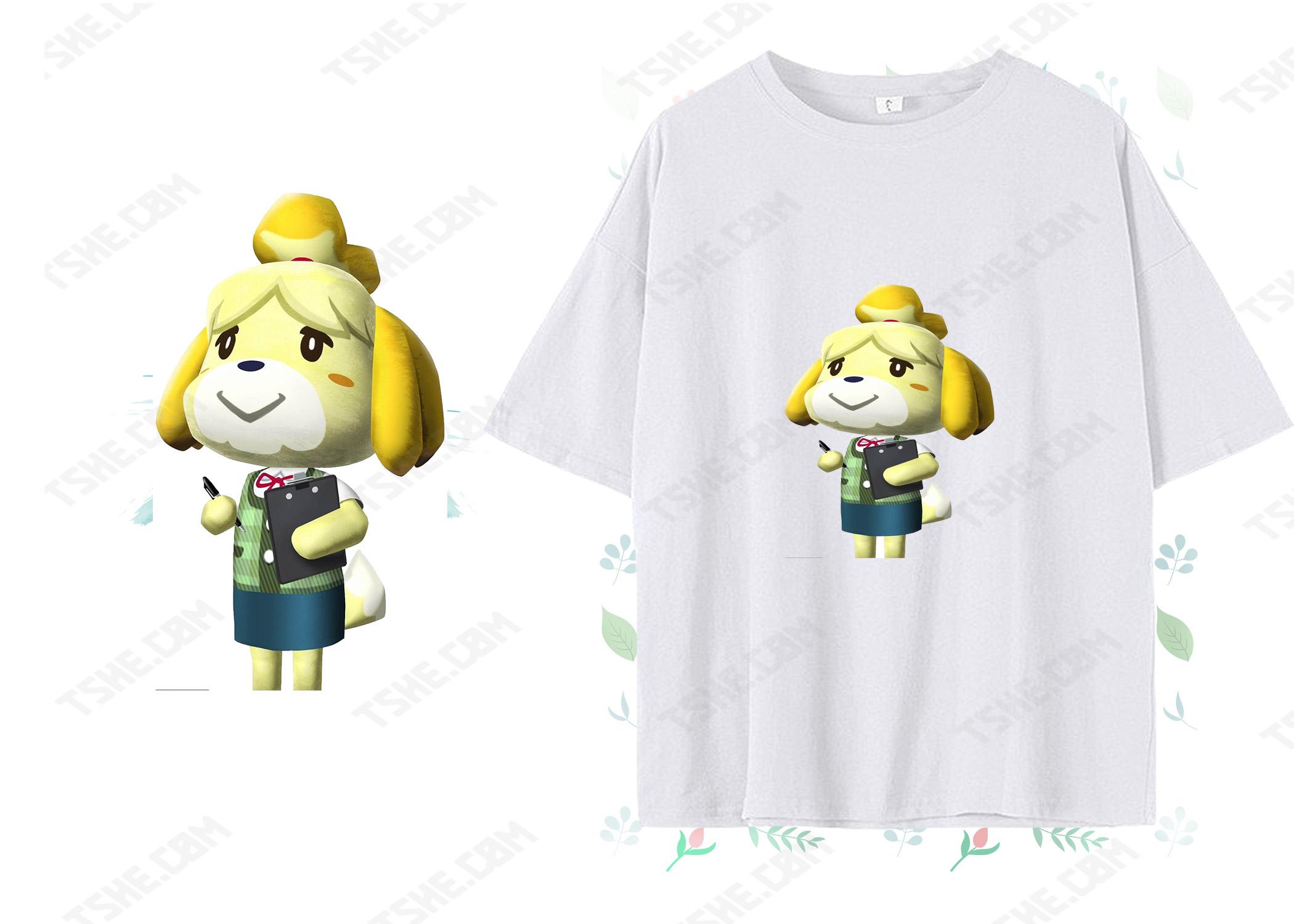 初來乍島,集合啦!動物森友會 DIY T恤