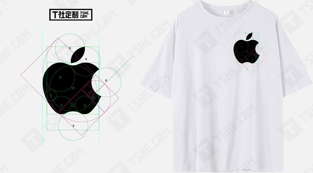 定做工作服的t恤衫印logo會不會很丑?