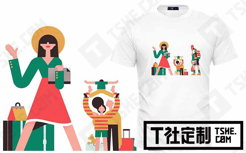 T社定制文化衫