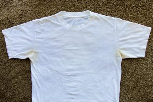 烈日炎炎 纯棉纯白的文化衫要怎么保养?