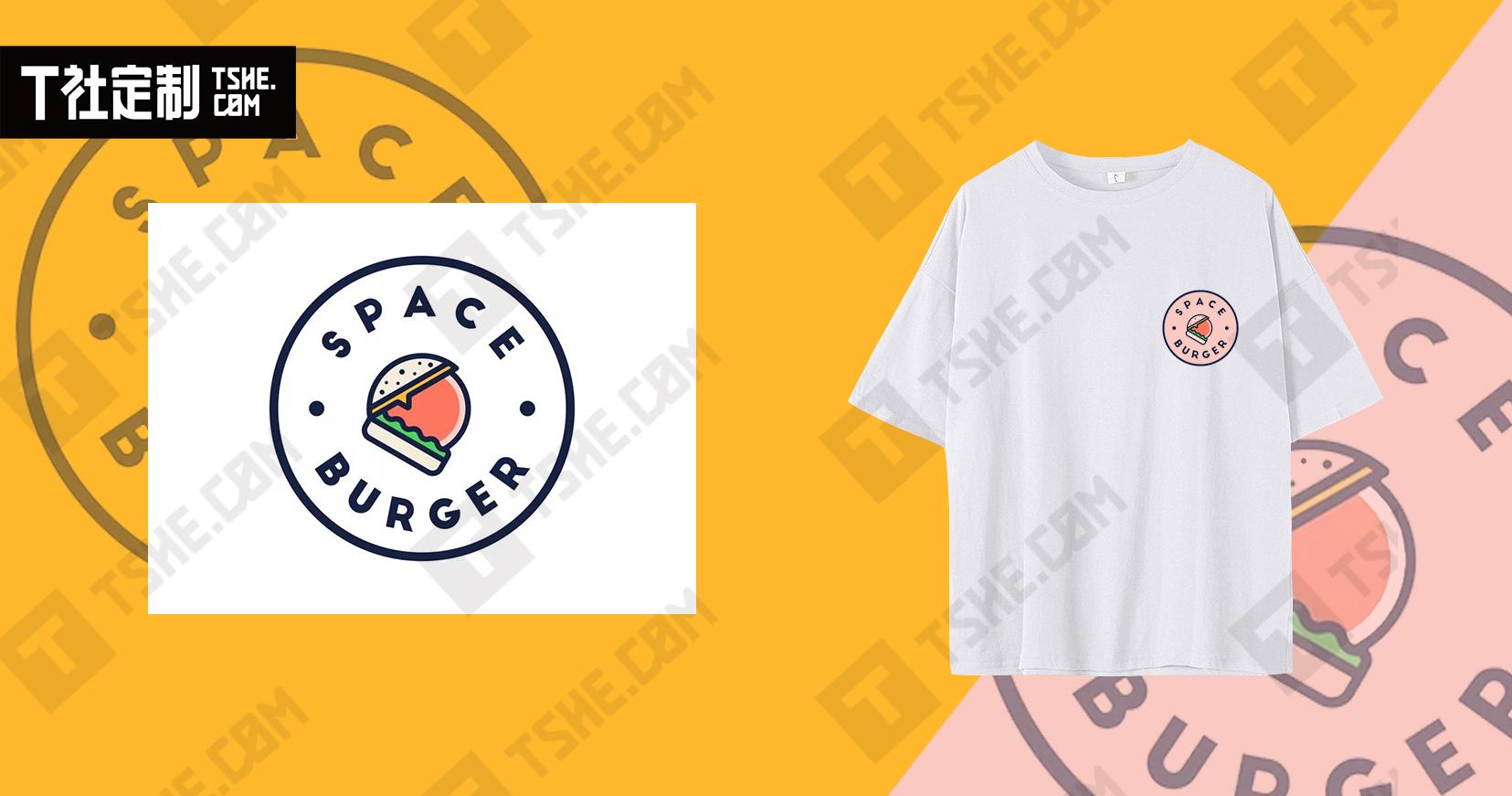 这些美食logo文化衫创意设计图片你见过吗?带你激发灵感