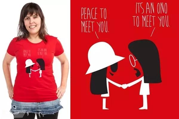 【T恤设计】T-shirt不仅仅是衣服,更是表达自己的方式
