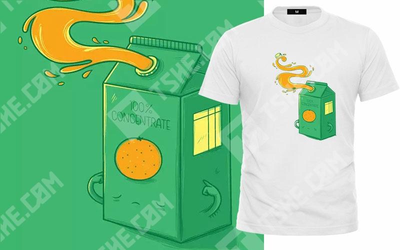 定制创意文化衫小清新T恤图案素材
