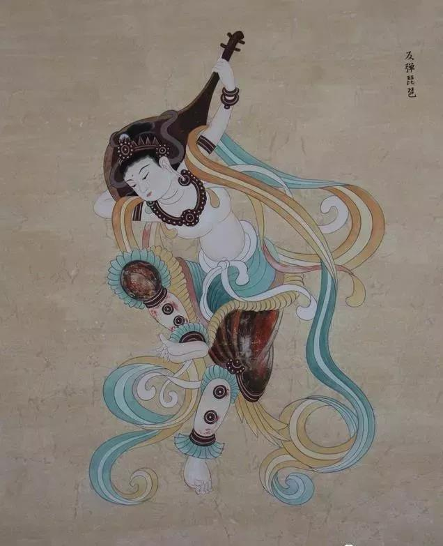 文化衫上的中国元素之敦煌飞天
