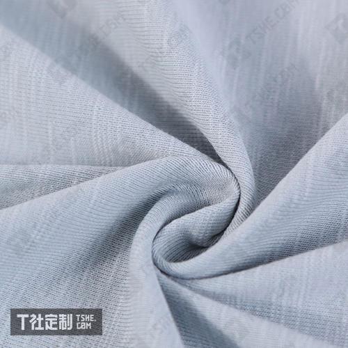 竹节棉面料 衣服定制 文化衫定制 天竺棉 t恤定制 订做全棉t恤 衣服定制工厂